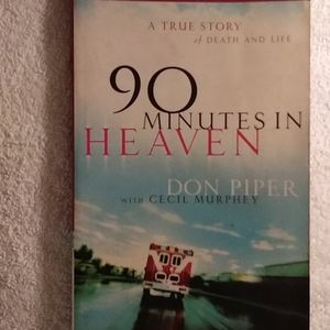 5/$10 book bundle: 90 MINUTES IN HEAVEN